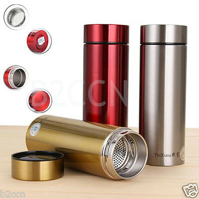 500ML Stainless Steel Travel Mug Coffee Water Vacuum Flask Cup Thermos Bottle