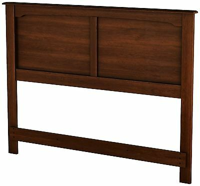 South Shore Furniture Willow Collection Full Headboard Sumptuous Cherry