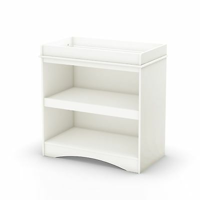 South Shore Furniture South Shore Peak-a-Boo Collection Changing Table White