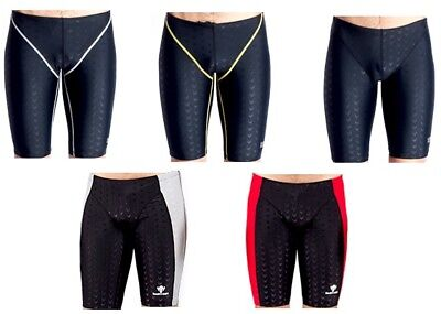 Boys/Men Sharkskin Technical Competition Racing Training Jammer Jammers Swimwear