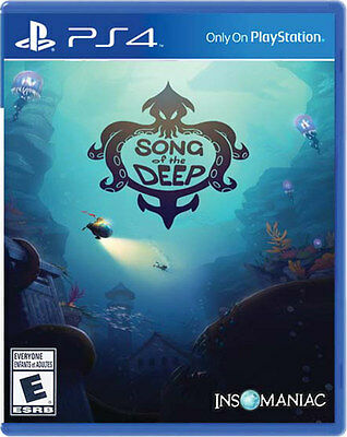 Song of The Deep PS4 Game Brand New & Sealed