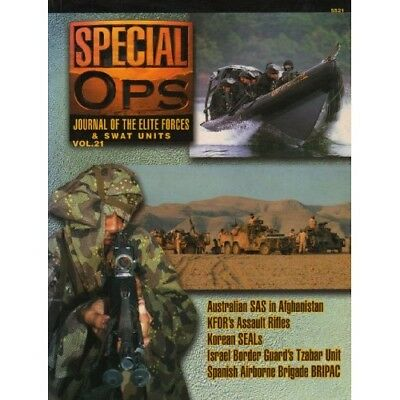 5521: Special Ops: Journal of the Elite Forces and Swat Units: Volume 21 - unbek