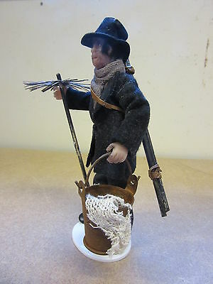1/12 scale Dolls House Dolls Chimney Sweep with Tools  . BM03