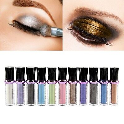 11 Colors Eye Shadow Makeup Cosmetic Shimmer Palette Roller Color Ombretto