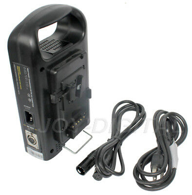 NO VAT Rolux Dual Channel Sony V-mount Lock Camera Battery Charger Power Supply