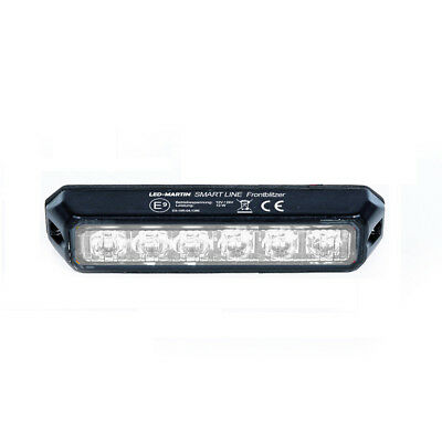 LED-MARTIN SMART LINE Frontblitzer 18W - weiß - extrem hell