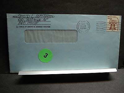 APO 09154 STUTTGART, GERMANY Army Postal History Cover 1976 30th MED Group