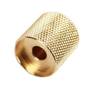 Gold Metal Dome Volume Tone Control Knob Button for Electric Guitar Bass