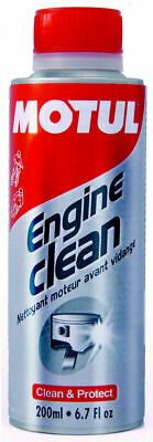Aditivo Limpiador Interior Motor Motul Engine Clean Moto 200ml
