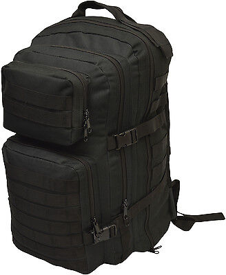 Black 40 Litre Military Army Molle Tactical Combat Assault Backpack/Rucksack
