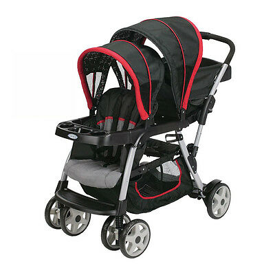 Graco Ready2Grow Double Seated Click Connect Stroller, Marco | 1934629