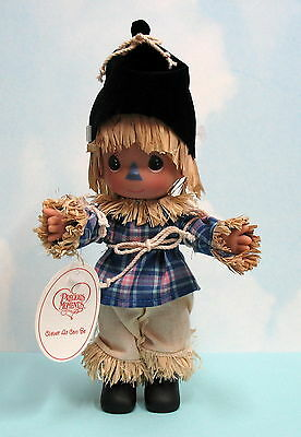 """PRECIOUS MOMENTS SCARECROW DOLL 7"""" - Clever As Can Be - # 2202 NEW"""