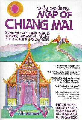 Nancy Chandler's Map of Chiang Mai, Thailand, 19th edition, (2011)