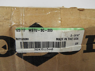 "1 New Dodge 125117 Wstu-Sc-203 Set Screw Bearing 211 Series 2-3/16""   *** Make O"