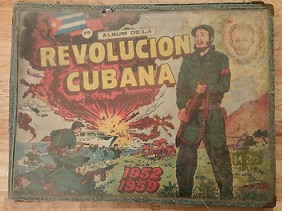 "1960 Original""album De La Revolucion Cubana"" Children Comic Book With 268 Cards"