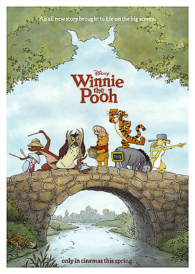 Winnie The Pooh (2011) - A1/A2 POSTER **BUY ANY 2 AND GET 1 FREE OFFER**