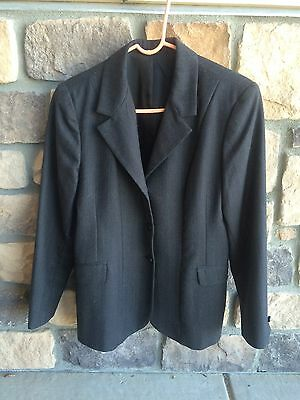 Used Ovation Show Coat - Black with pinning