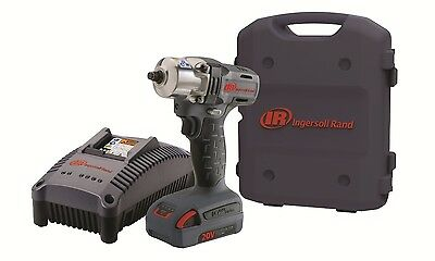 Ingersoll Rand W5130-K1 3/8-Inch 20V L-Ion Cordless Impact Wrench Kit- NEW