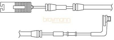 BMW E65 Brake Pad Wear Indicator Sensor BWL0054 Warning Contact Wire Braymann