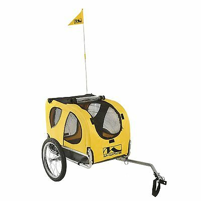 M-Wave Pet N' Go Bicycle Trailer Yellow