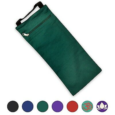 YogaAccessories (TM) Unfilled Sandbag for Yoga and Pilates - Green