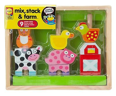 ALEX Toys - Early Learning Mix Stack & Farm - Little Hands 1481F
