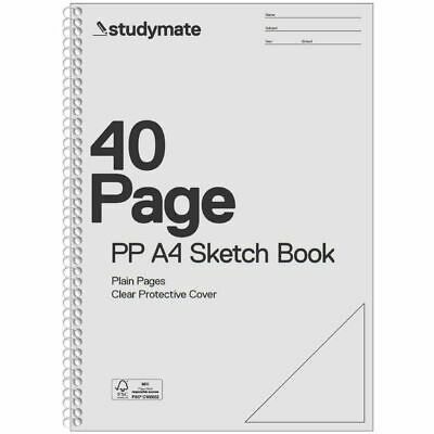 Studymate Premium Clear PP A4 Sketch Book