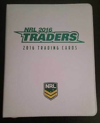 2016 ESP NRL Traders Album / Folder with Complete 161-Card Common Base Set