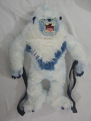 '06 Disney World Animal Kingdom EXPEDITION EVEREST YETI Plush Character Backpack