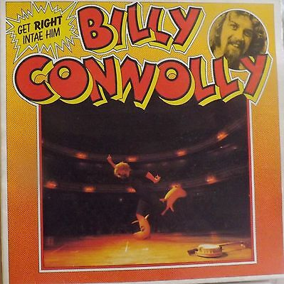 Billy Connolly Get Right Intae Him Vinyl Lp 1975