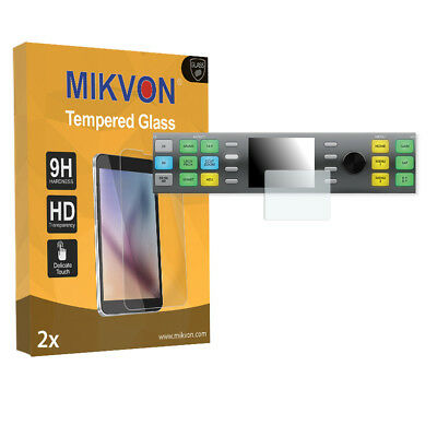 2x Mikvon Tempered Glass 9H for Blackmagic Teranex Express Screen Protector
