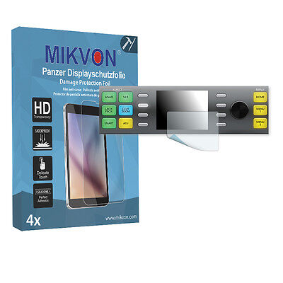 4x Mikvon Armor Screen Protector for Blackmagic Teranex 3D Retail Package