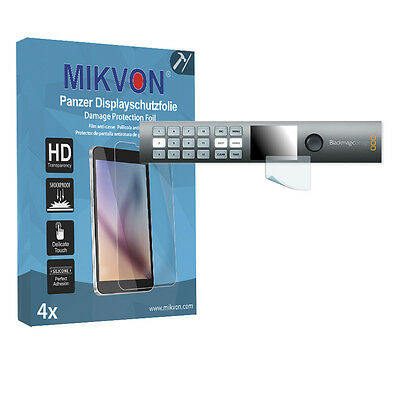 4x Mikvon Armor Screen Protector for Blackmagic Smart Videohub 12x12 accessories