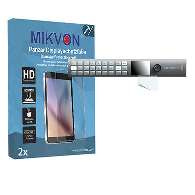 2x Mikvon Armor Screen Protector for Blackmagic Smart Videohub 20x20 accessories