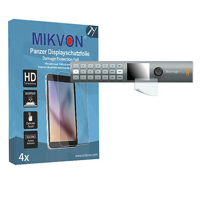 4x Mikvon Armor Screen Protector for Blackmagic MultiView 16 Retail Package