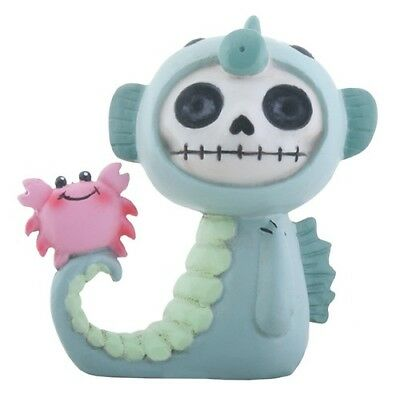 Furrybones Anchor Figurine Seahorse Skeleton Skull Gothic Cute Gift Different