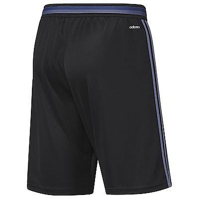 adidas Mens Gents Football Soccer Real Madrid Training Shorts Bottoms - Black