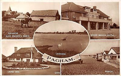 POSTCARD    SUSSEX   PAGHAM    Scenes