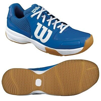 Wilson Storm Squash Indoor Shoes Blue GREAT PRICE DEAL SHOE