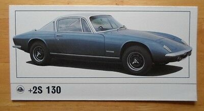 LOTUS Elan +2 S 130 orig 1971 UK Mkt Sales Brochure - +2S