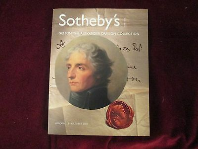Lord Nelson Naval Hero Estate Sale Sotheby's Auction Catalogs