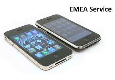 EMEA Official iPhone Unlock Code. iPhone 3GS,4,4S,5,5C,5S,6.6+.6S,6S+,SE,7,7+