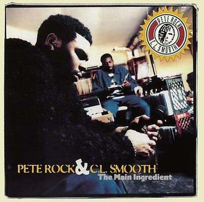 PETE ROCK AND CL SMOOTH The Main Ingredient 2LP Vinyl NEW