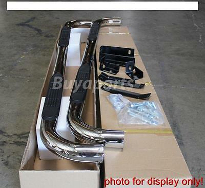 """2009-2014 Ford F150 Super Crew/ Crew Cab 3"""" S/s Side Step Nerf Bar Running Board"""