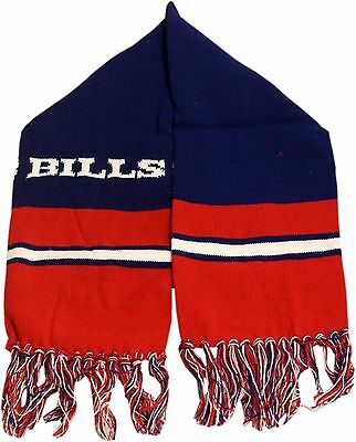 Buffalo Bills Youth Knit Scarf 2 Sided Team Name 12633