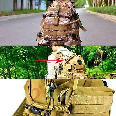 Handy Tactical Backpack Accessories Retractable Rope For Molle CS Safety Rope