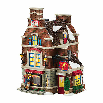 Dept 56 Dickens Village Christmas Sweets Shop Lighted Building Store 4054961 NEW