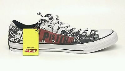 Sex Pistols Converse All Star Mens 13