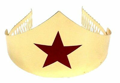 Gold Wonder Woman Tiara Crown 342043