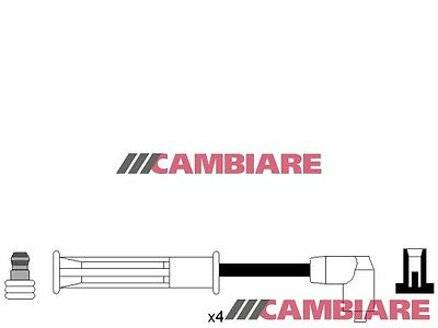 RENAULT CLIO 1.1 HT Leads Ignition Cables Set VE522004 Cambiare Quality New